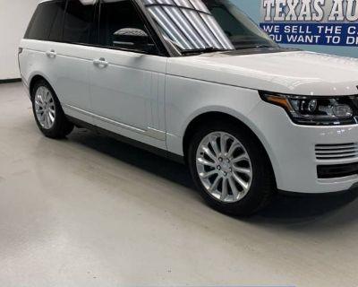 2016 Land Rover Range Rover Standard