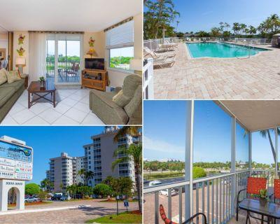 Faces Beach - Screened Balcony - Sofa Bed - Bonita Beach & Tennis - Bonita Springs