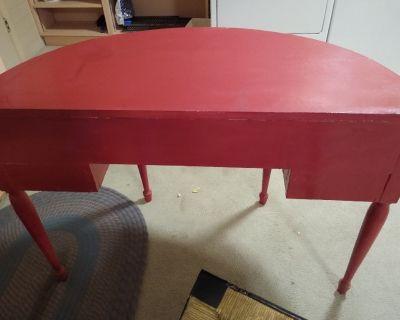 Antique half moon desk 1794