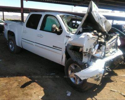 Salvage White 2012 Gmc Sierra 1500
