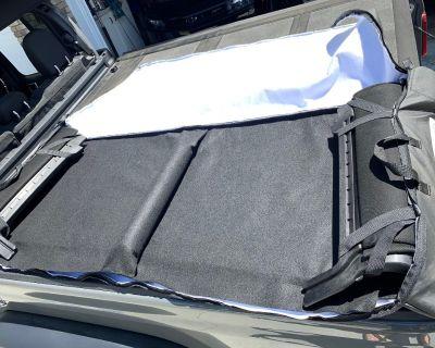 Soft top rear window bag