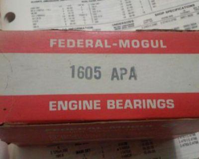 Federal Mogul 1605apa Std. 8 Pr. Rod Bearings Allis Chalmers - Buda