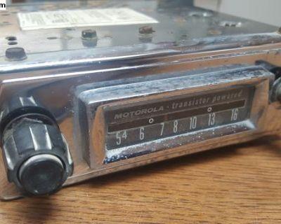 1958-1962 Motorola Radio VWM60