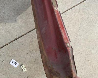 Type 3 left front fender metal repair door edge