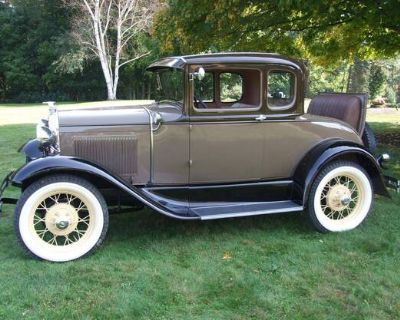 1930 Ford 5 Window All-Steel Coupe Original Restored Stock