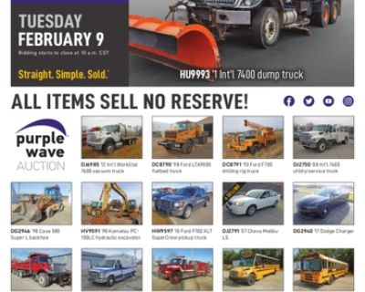 February 9 government auction