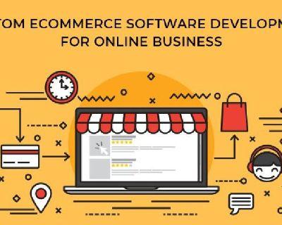Custom eCommerce Software Development for Online Business