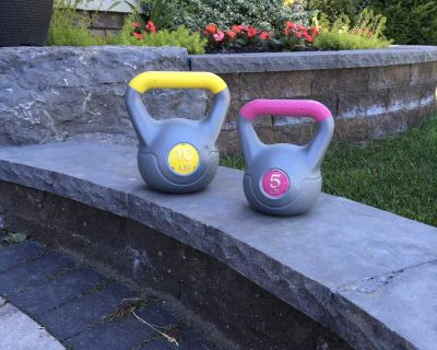 Kettlebell weights exercise weights Oshawa porch pickup