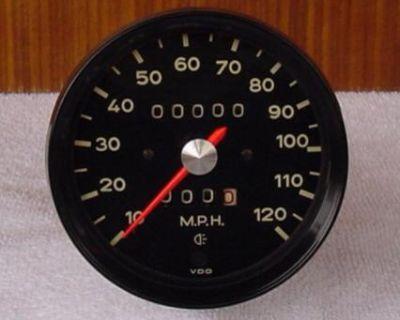 1972 Porsche 914 Speedometer Gauge (Restored)
