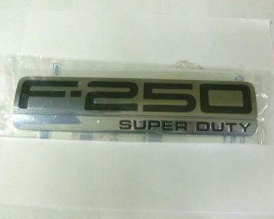 2005 2006 2007 Ford F250 Super Duty Tail Gate Emblem New Oem 5c3z 9942528 Da