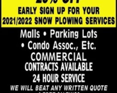 GLI LANDSCAPE GROUP SNOW PLOW...