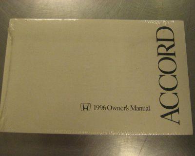 1996 Honda Accord Factory Owner's Manual Oem