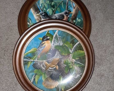 2 collector plates in frames - Encyclopedia Britannica!