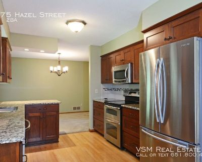 AVAIL NOW - Perfect 3 bed 1.5 bath tucked away in White Bear Lake. Hurry, won't last long!