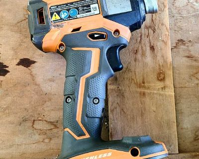 Ridgid Impact Drill (with battery and charger)