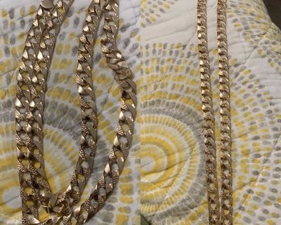 14k real gold chain