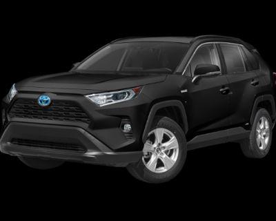 New 2021 TOYOTA RAV4 Hybrid XLE AWD All Wheel Drive 4 door