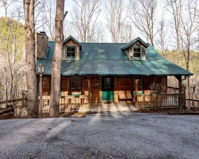 Rustic Ridge Cabin - 3 bdrms/2 bath, 2 fireplaces, fully equipped kitchen, outdoor living & swimming - Townsend