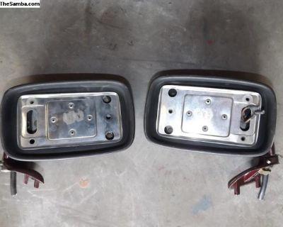 Porsche 911 Carrera Left and Right Door Mirrors