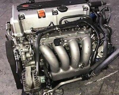 2004-2007 ACURA TSX 2.4L DOHC I-VTEC 4 CYLINDER ENGINE JDM