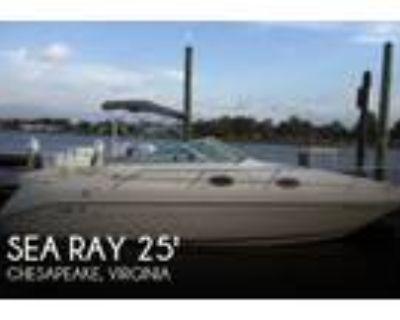 25 foot Sea Ray 250 Sundancer