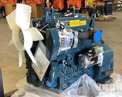Kubota D1105 Diesel Engine - Unused