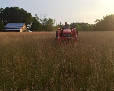Farm Experience. Learn to Drive a Tractor. - North Albemarle
