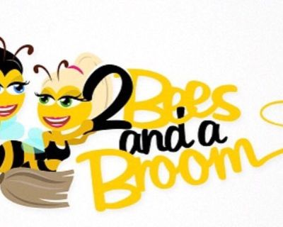 2 Bees And A Broom
