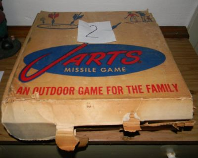 2 sets of Vintage Missile Brand Lawn Jarts Sets are currently in stock as of 06-21-2021