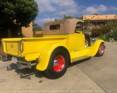 1928 Ford 1/2 Ton Pickup All-Steel Chopped Convertible Original Pickup Restored Roadster Engine Swap