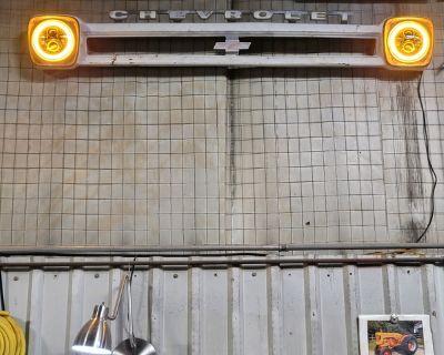 Man Cave/Shop wall art Chevy