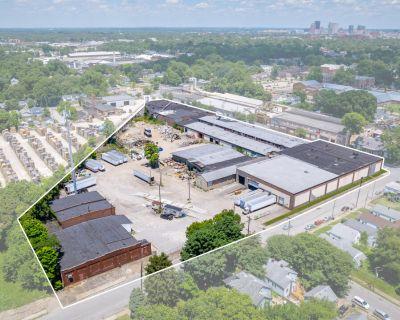 Rail Served Bulk Warehouse for Sale