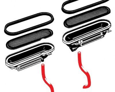 New Type 3 Fresh Air Box Drain Hose(s)