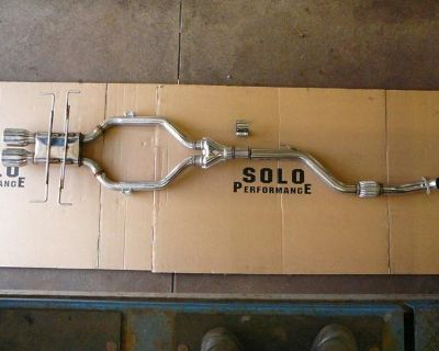 Pontiac Solstice Gxp Rear Center Dual Exhaust By Solo Performance High Flow