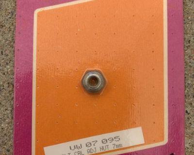 NOS, Save-A-Bug, Clutch Cable Adjusting Nut, 7mm