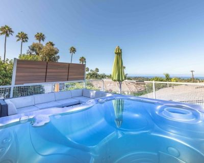 San Diego Staycation Home w/ Hot Tub, Views, Clean - Encinitas