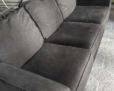 Ashley Furniture Couch/Sofa Charcoal Grey