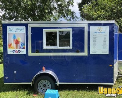 2018 - 6' x 10' Shaved Ice Concession Trailer / Mobile Snowball Unit