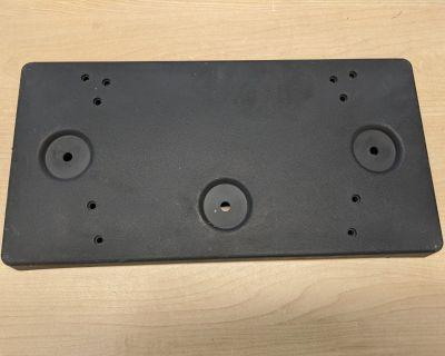 2007-2009 Jaguar XK Front license plate bracket C2P2215