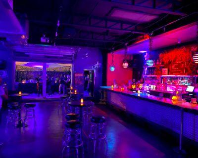 Urban Warehouse Space with Patio, Graffiti and Painting, Bar and Restaurant, Atlanta, GA