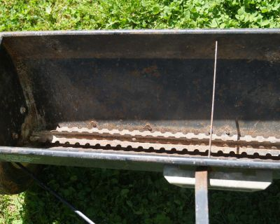 Drop Spreader for Small Yard Tractor or Riding Mower