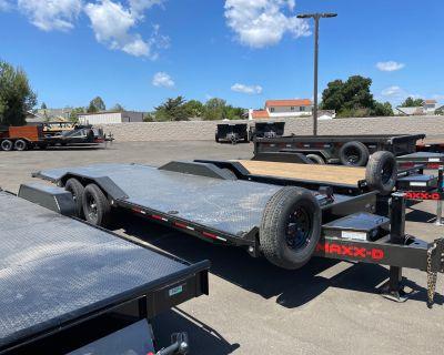 "2021 MAXXD TRAILERS 24' X 102"" CHANNEL POWER TILT Trailer Paso Robles, CA"