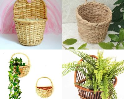ISO pocket or wall basket for plant