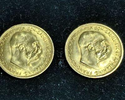 Capital Area Treasures January 3rd Coin Auction