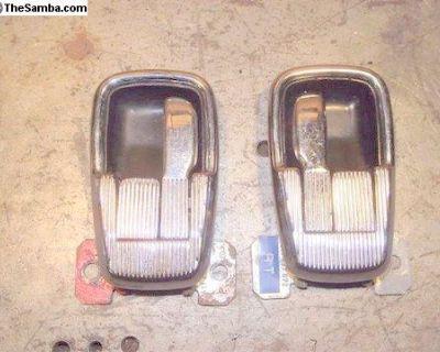 Porsche 914 Chrome Interior Door Handles