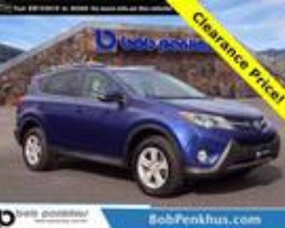 2014 Toyota RAV4 Blue, 64K miles