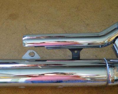 Yamaha Xvs650 V Star Custom Stock Exhaust Muffler Pipe Chrome Xvs 650 Vstar