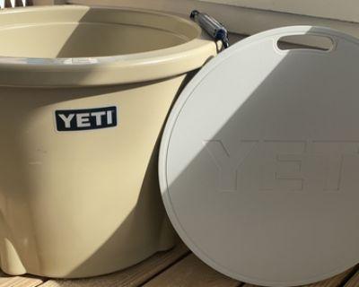 YETI Barrel Cooler