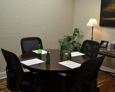 Private Meeting Room for 4 at Peachtree Offices at Lenox, Inc.