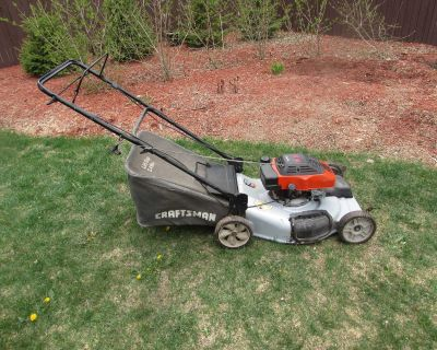 Sears Craftsman Self propelled mower with bagger